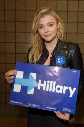 Chloe Moretz - Speaking at Lawrence Technical University in Michigan 9/30/2016