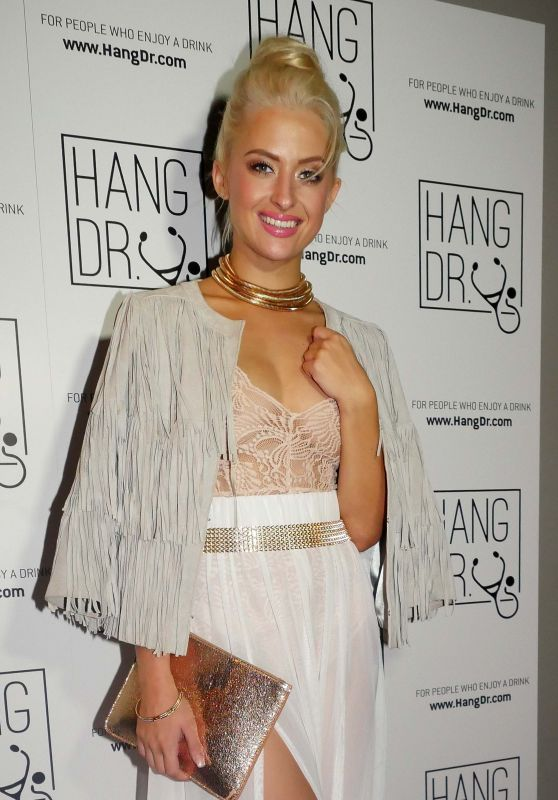 Chloe Paige - Attends the HangDr Event in London 9/21/2016