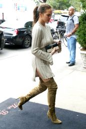 Chrissy Teigen Cute Style - at The Bowery Hotel in NYC 9/28/2016