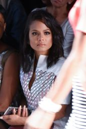 Christina Milian - Bibhu Mohapatra Fashion Showin New York City 9/14/2016