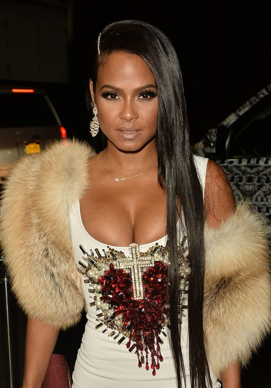 Christina Milian Night Out Style - NYC 9/11/2016