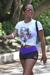 Christina Milian - Out of a Workout in Los Angeles 9/7/2016