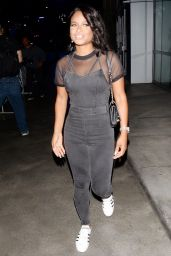 Christina Milian Outfit Ideas - Staples Center in L.A. 9/7/2016