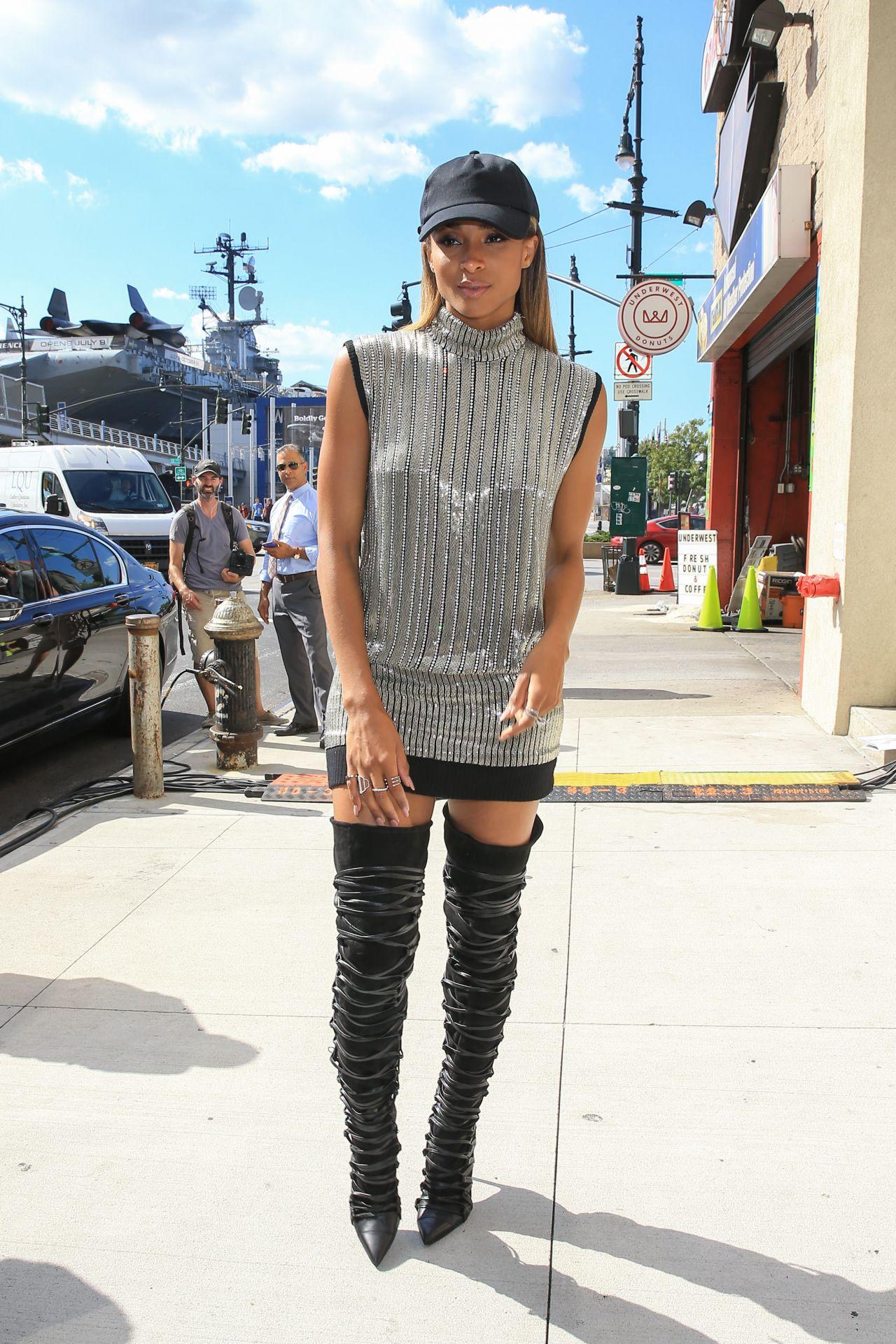 Ciara Fashion Week Karl Lagerfeld