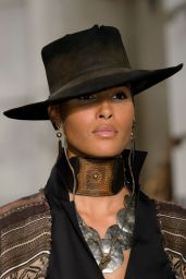 Cindy Bruna - Ralph Lauren Show at Milan Fashion Week, September 2016