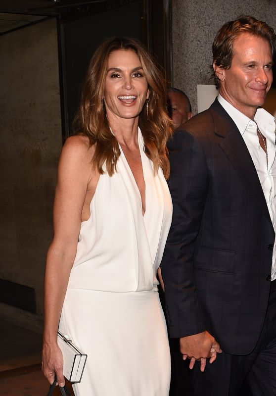 Cindy Crawford - New York Fashion Week Tom Ford Show 9/7/2016