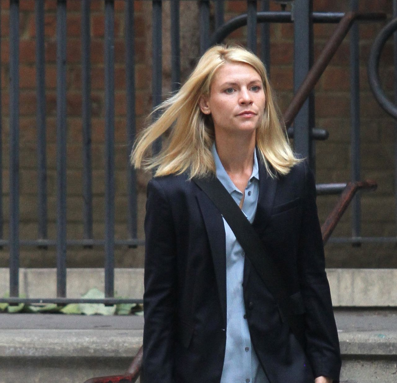 Claire Danes -'Homeland' Set in NYC, August 2016 Claire Danes Homeland