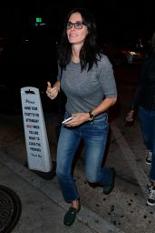 Courteney Cox at Craig