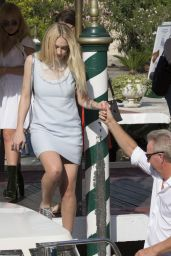 Dakota Fanning at Hotel Excelsior in Venice, Italy 9/2/2016
