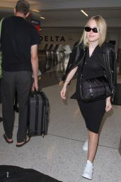 Dakota Fanning at LAX Airport in LA 8/31/2016