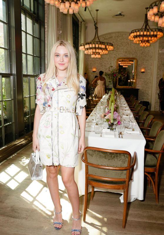 Dakota Fanning - W Magazine It Girl Luncheon in New York 9/7/2016