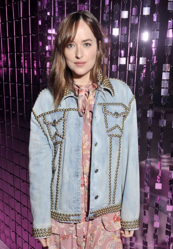 Dakota Johnson - Gucci Fashion Show Spring/Summer 2017 in Milan 9/21/2016