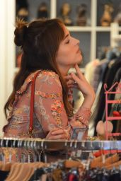 Dakota Johnson - Shopping in Milan, Italy 9/21/2016