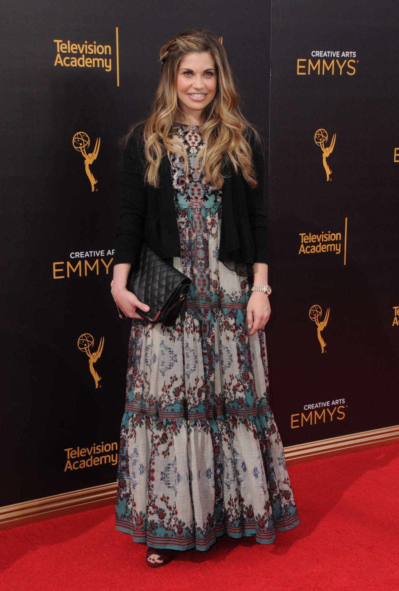 Danielle Fishel Creative Arts Emmy S Awards In Los