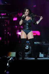 Demi Lovato Performing at the Minnesota State Fair in St. Paul 8/31/2016