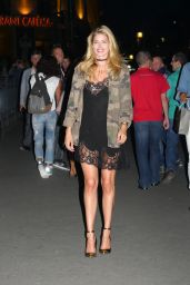 Doutzen Kroes Night Out - at the Grill Royal Restaurant in Berlin 8/30/2016