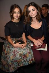 Ella Purnell - Burberry Show - London Fashion Week 9/19/2016