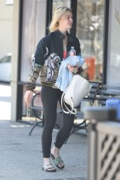 Elle Fanning - Arrives for a Workout at the Gym in Los Angeles 9/22/2016