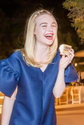 Elle Fanning - ASOS Dinner - 2016 Holiday Collections in Beverly Hills 9/27/2016