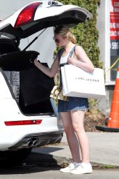 Elle Fanning - Out in West Hollywood 9/7/2016