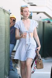 Elle Fanning - Out in West Hollywood, September 2016