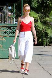 Elle Fanning Street Style - Studio City 9/29/ 2016
