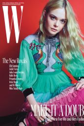 Elle Fanning - W Magazine - The New Royals, October 2016