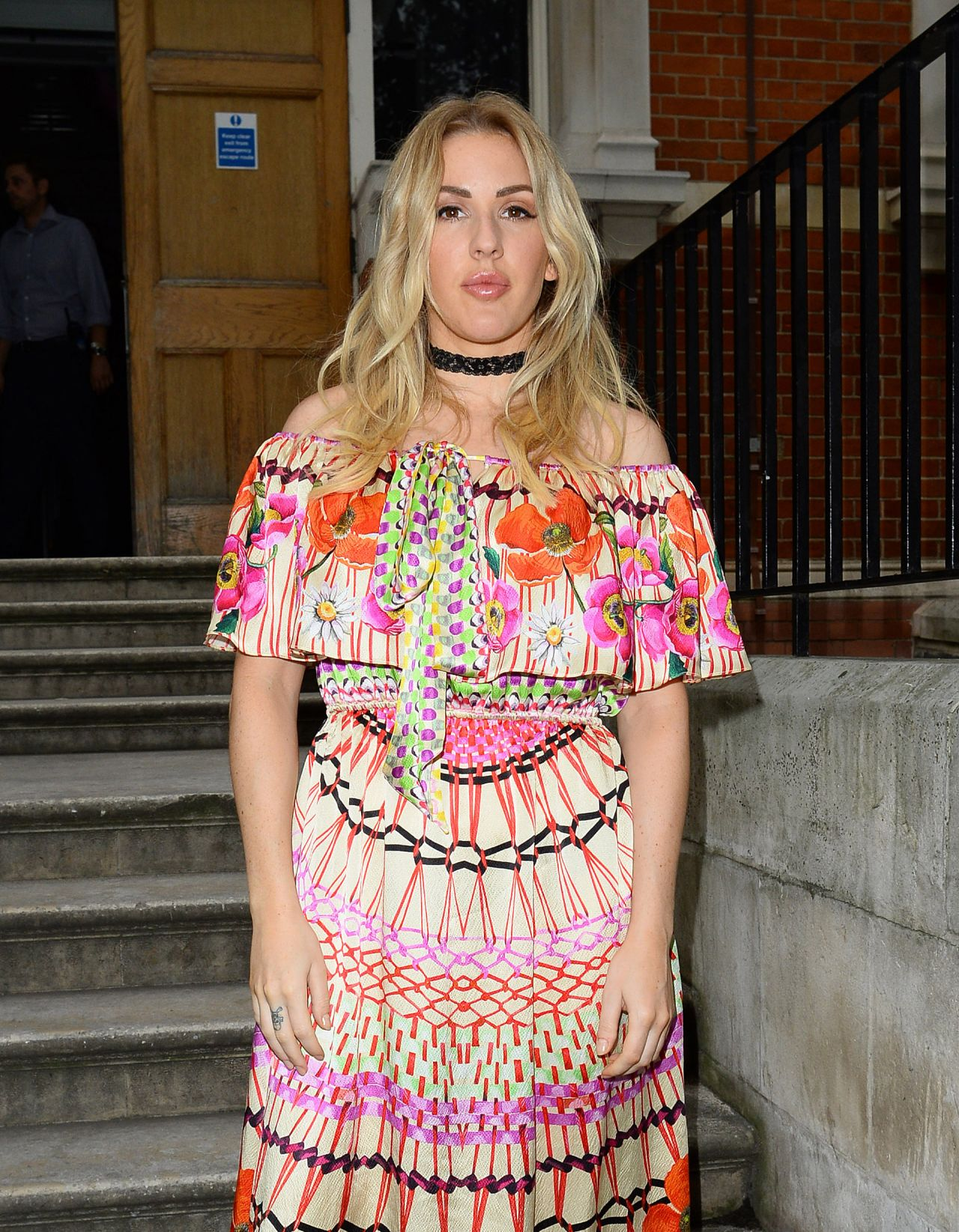 Celebrities Trands Ellie Goulding Temperley Fashion Show At Lindley Hall In London 9 18 2016