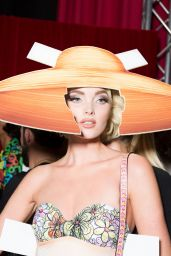 Elsa Hosk - Moschino S/S 2017 Show in Milan, September 2016
