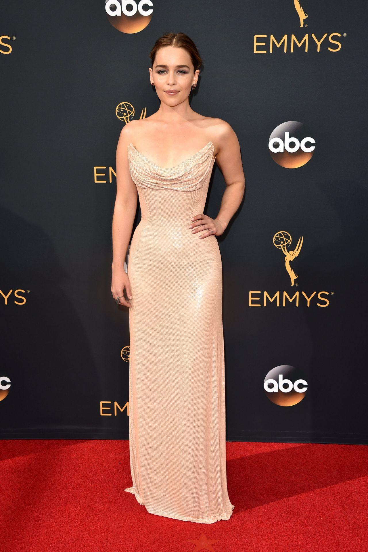 Emilia Clarke 68th Annual Emmy Awards In Los Angeles 09