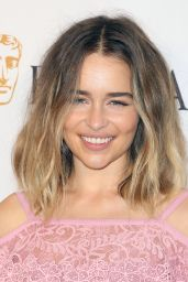 Emilia Clarke – BAFTA Los Angeles TV Tea Party in West Hollywood 09/17/2016
