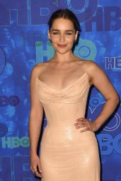 Emilia Clarke – HBO's Post Emmy Awards Reception in Los Angeles 09/18/2016