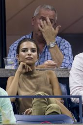 Emily Ratajkowski at the US Open in NYC 9/8/2016
