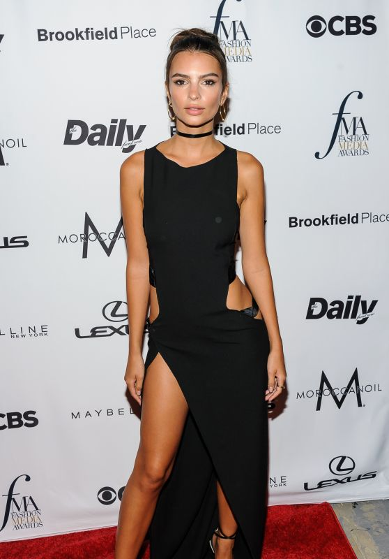 Emily Ratajkowski – The Daily Front Row's Fashion Media Awards 2016 in NYC