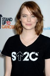 Emma Stone - Stand Up To Cancer at Walt Disney Concert Hall in Los Angeles, CA 9/9/2016