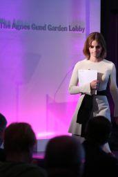 Emma Watson - HeForSh Reception at MOMA in New York City 9/20/2016