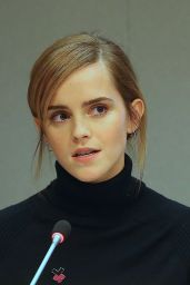 Emma Watson - Participated in the Launch of the Initiative of