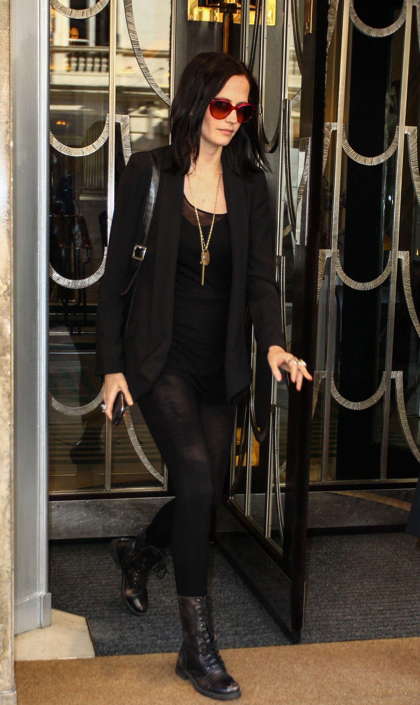 Eva Green Style Leaving Her Hotel In London 09 22 2016