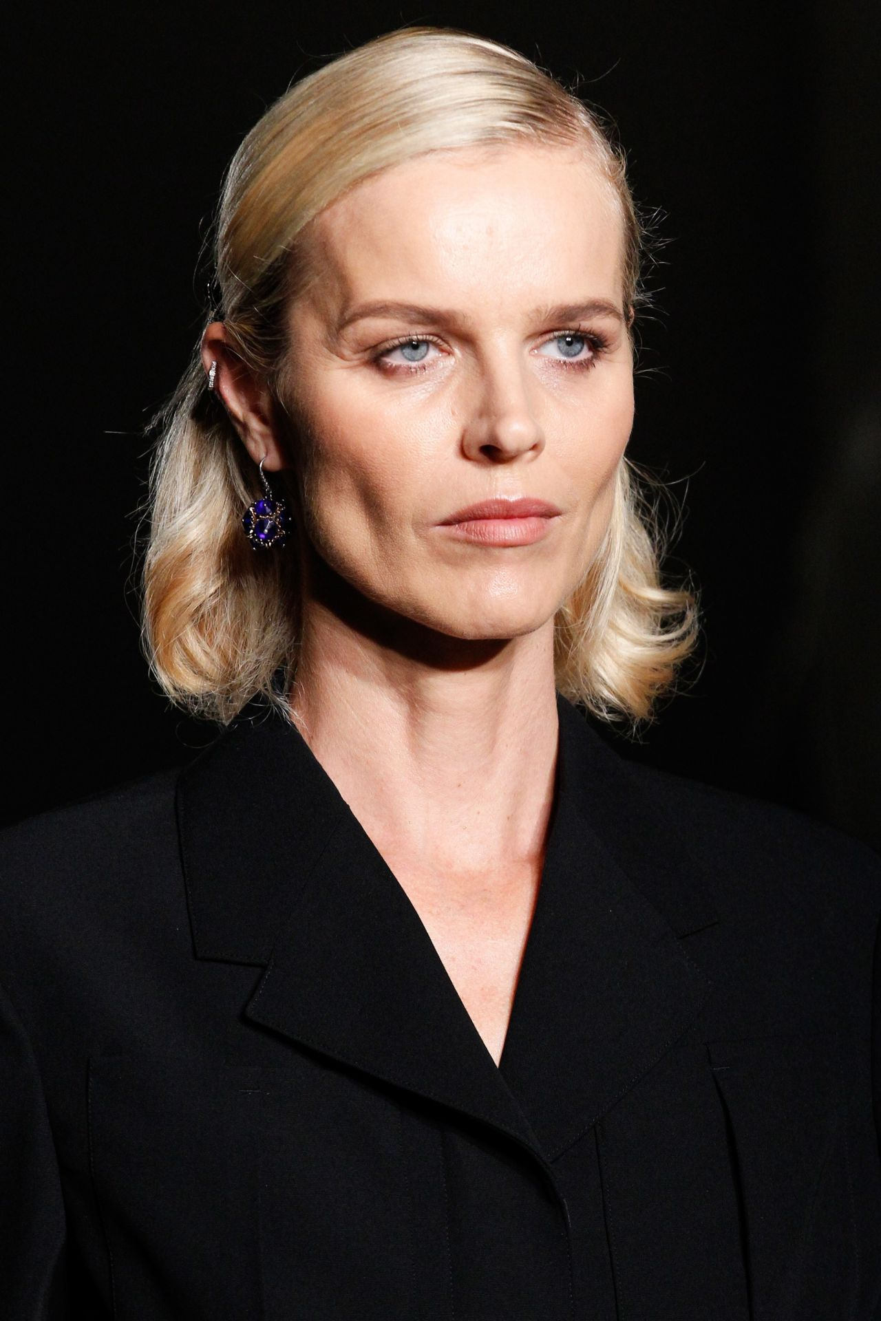 Eva Herzigova  Bottega Veneta S/S 2017 Show in Milan - Colorful Hairstyles