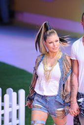 Fergie at Philipp Plein Show - Milan Fashion Week Spring/Summer 2017 in Milan 9/21/2016