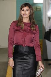 Ferne McCann - Leaving the ITV Studios in London, September 2016