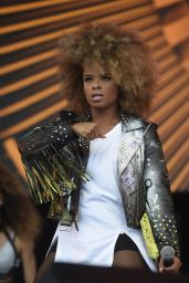 Fleur East Performs at Fusion Festival on Otterspool Promenade in Liverpool 9/4/2016