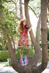 Francesca Capaldi Photoshoot - The Project for Girls, September 2016