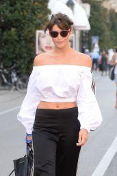 Gemma Arterton Style - Outin Venice, Italy 9/8/2016