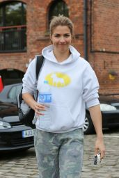 Gemma Atkinson - Leaving Key 103 Radio in Manchester 9/27/ 2016