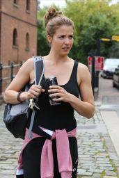 Gemma Atkinson - Outside Key 103 in Manchester, UK 9/28/2016