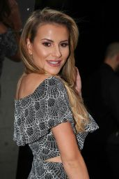 Georgia Kousoulou at The ByGeorgiaK Collection Launch At W Hotel In London 9/20/2016