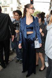 Gigi & Bella Hadid - Leaving a Fashion Show in Milan, Italy 9/21/2016