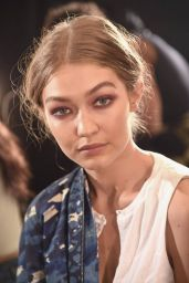 Gigi Hadid – Anna Sui Fashion Show in New York City 9/14/2016