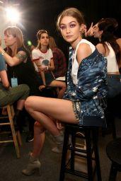 Gigi Hadid – Anna Sui Fashion Show in New York City 9/14/2016